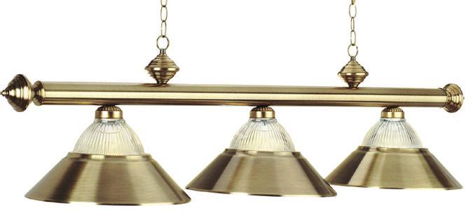 Lampe combo verre et m tal pour table de billard lampes for Lampe de billard pas cher