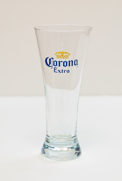 Corona 12oz beer glass branded products for How to make corona glasses