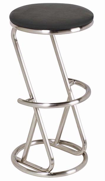 Modern Stool With Stainless Steel Base Kitchen Stools And Bar Stools
