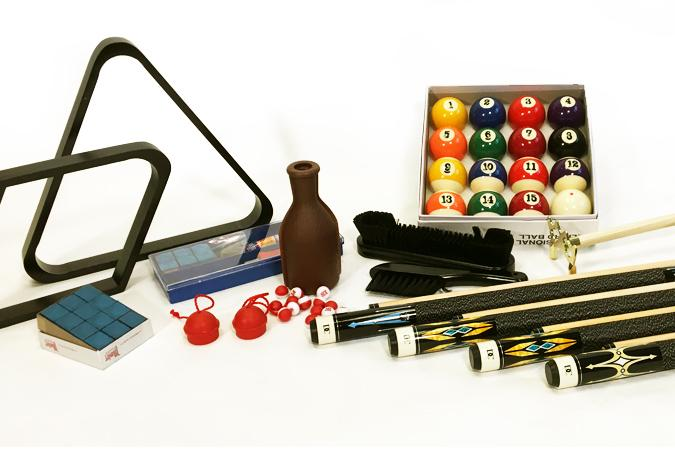 Palason Billiard Deluxe pool table accessory kit