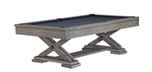 Brunswick Brixton Driftwood rustic billiard table