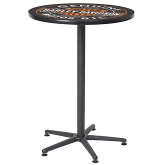 Harley Davidson bar bistro table