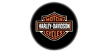 Harley Davidson barstool with shield logo