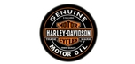 Harley Davidson bar stool with backrest