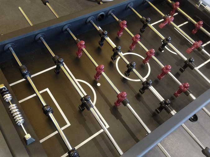 Table de Jeu Babyfoot Soccer 3-Gardiens Legacy Sterling
