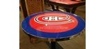 Montreal Canadians ' Les Canadiens ' HABS Pub Table with logo team effigi on Surface