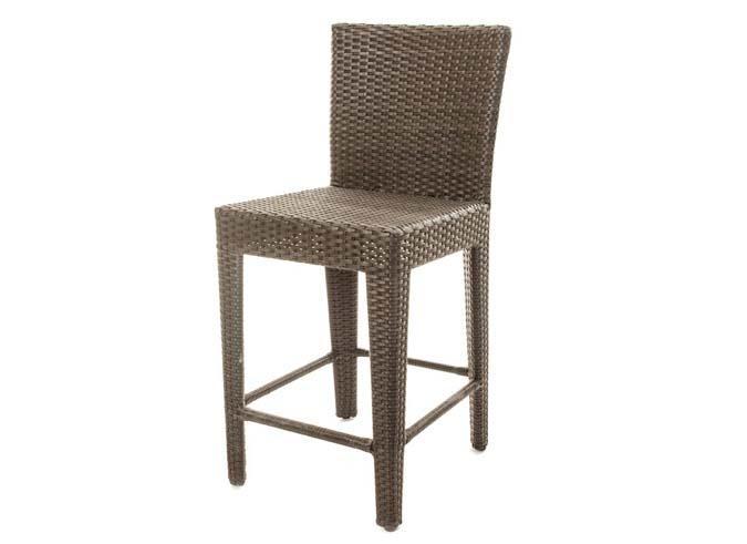 Ensemble de table à dîner patio Condo Comptoir et chaises pour balcon, terrasse ou jardin