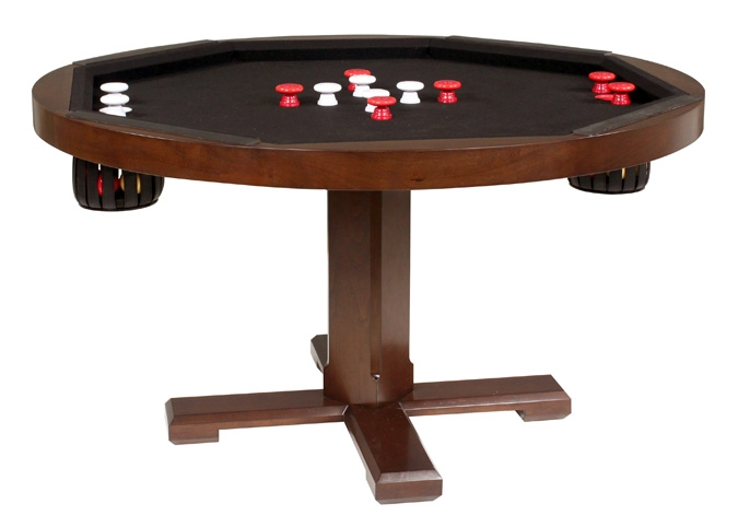Bumper Pool Table, Poker, Dining Top ...
