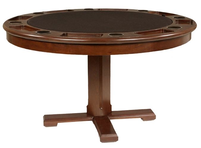 Bumper pool table, poker, dining top