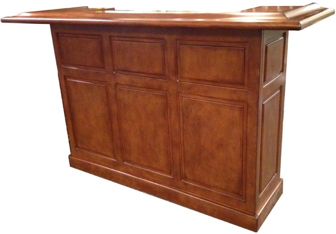 72 inch Heritage residential bar by Legacy, port