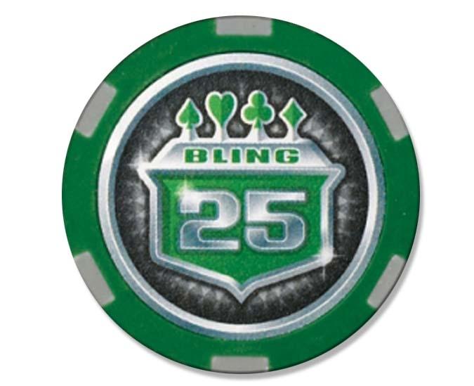Trousse de jetons poker 500 pcs Bling