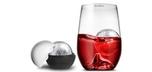 Grand rock highball glass and ice ball mould set