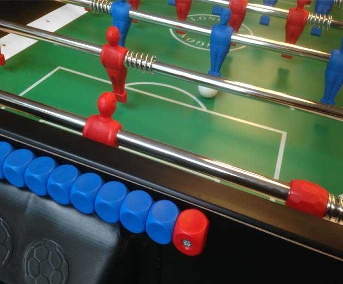 Outdoor Foosball Table Longoni Storm Soccer - Italian foosball table