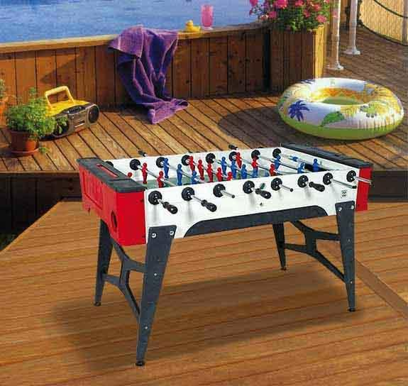 Table de babyfoot exterieure Longoni Storm soccer F1