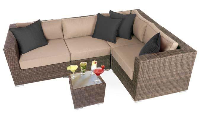 Liana Urban outdoor furniture seating set