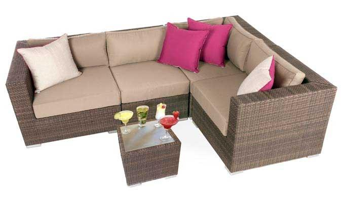 Liana Urban outdoor furniture seating set