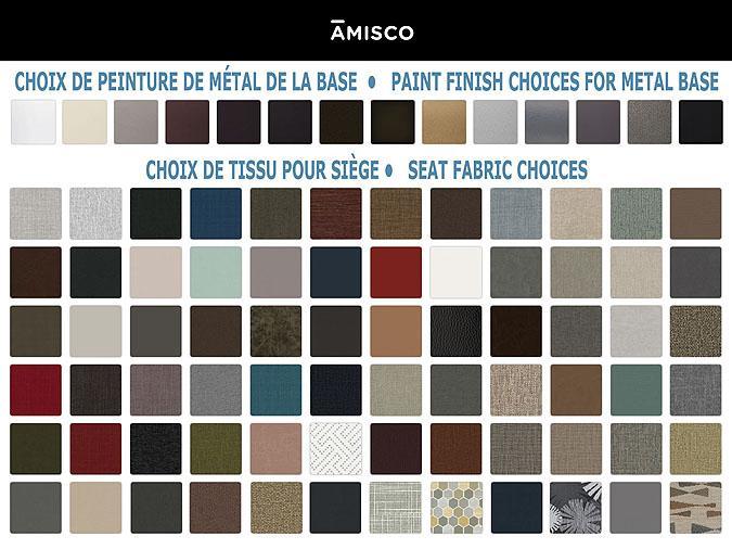 Tabouret de style industriel Amisco Upright 40264