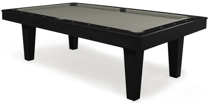 table de billard noire moderne majestic charente