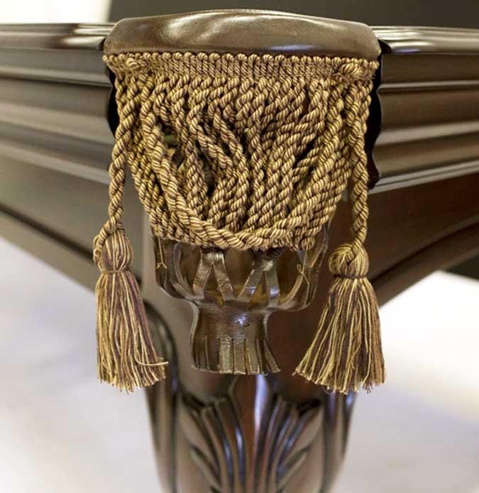 Table de billard 8 pieds Majestic au fini Noyer