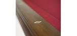Table de billard 8 pieds de marque Majestic Pinnacle au fini noyer