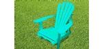 Adirondack chair made of Canadian Cedar wood