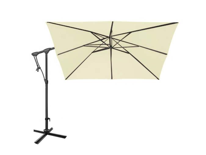 parasol blanc. Black Bedroom Furniture Sets. Home Design Ideas
