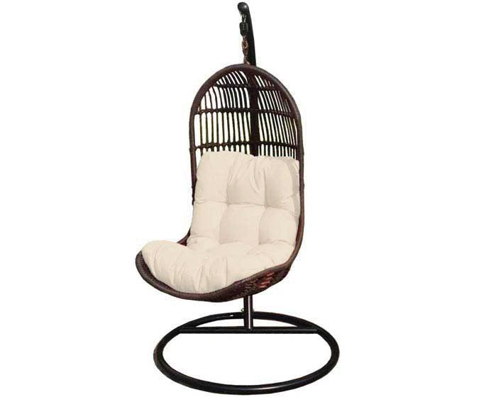 chaise suspendue jardin liberte par ogni. Black Bedroom Furniture Sets. Home Design Ideas
