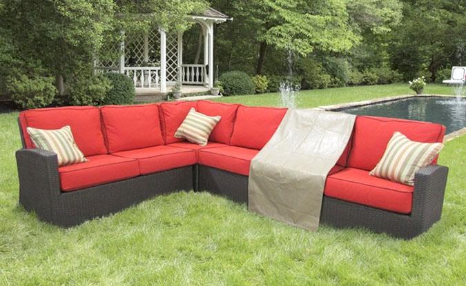 housse de meuble de jardin milieu sectionnel 28l x 40p x 32h - Meuble De Jardin