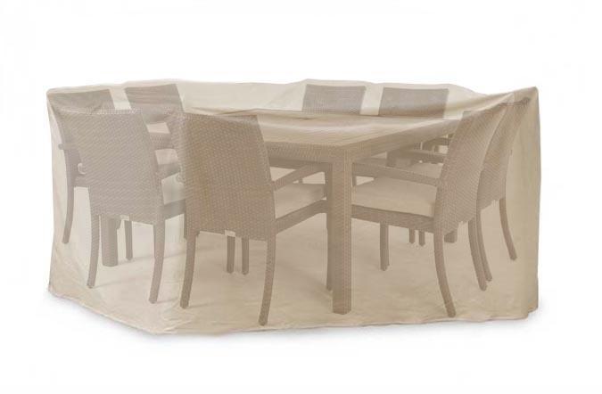 Housse de table patio carrée 9 x 9 pieds