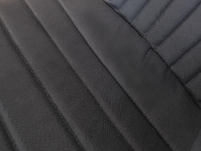 Coussin de chaise Adirondack noir