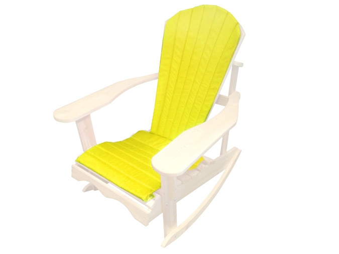 coussin de chaise adirondack jaune. Black Bedroom Furniture Sets. Home Design Ideas