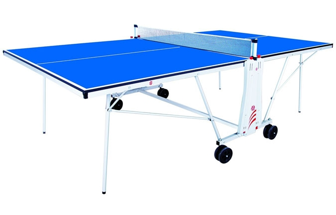 Charming ACE 3 Pingpong Table With Blue Surface