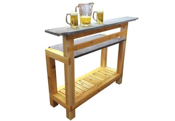 Exterior Bar made of Cedar for outdoor or indoor use