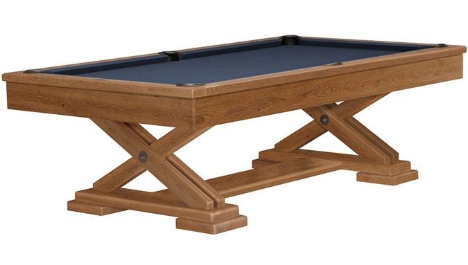 Brixton Beachwood pool table