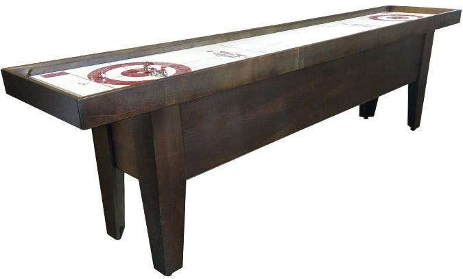 Cool Curling Mississipi or shuffleboard style game table