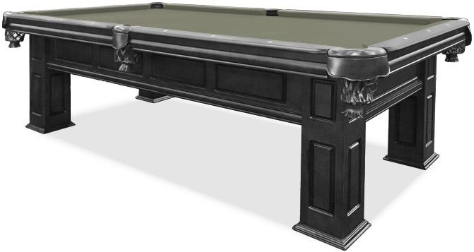 Table billard Majestic Frontenac au fini noir 8 pieds