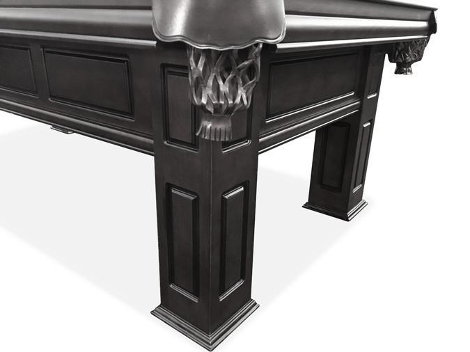 Majestic Frontenac 8 foot black finish pool table