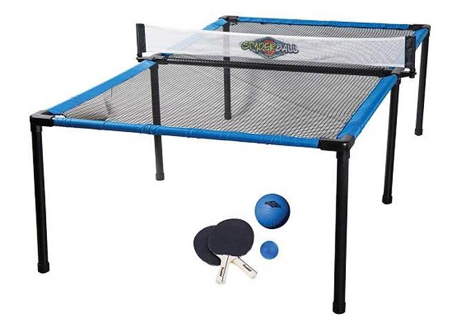 Spyder Pong outdoor trampoline tennis game