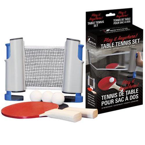 Filet et raquettes de ping pong tennis portable