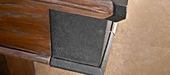 Table de billard Brunswick Canton de style industriel rustique