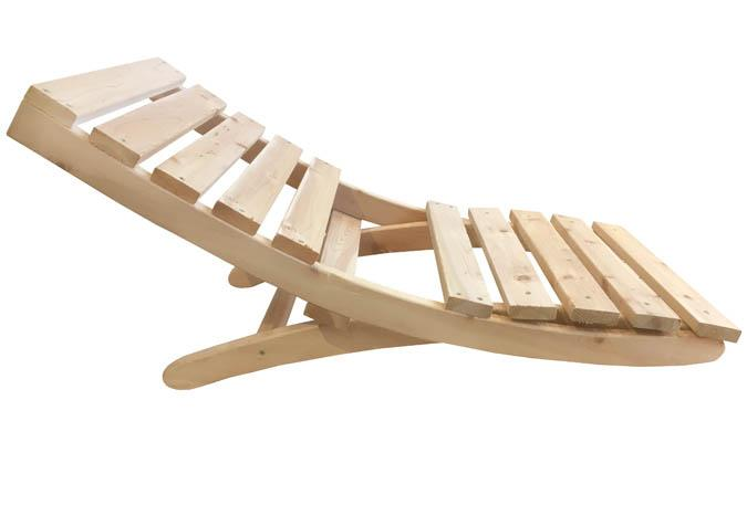 Portable Folding Wooden Camping Chair