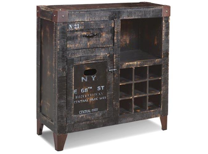 meuble de bar vin graffiti 36 pouces. Black Bedroom Furniture Sets. Home Design Ideas