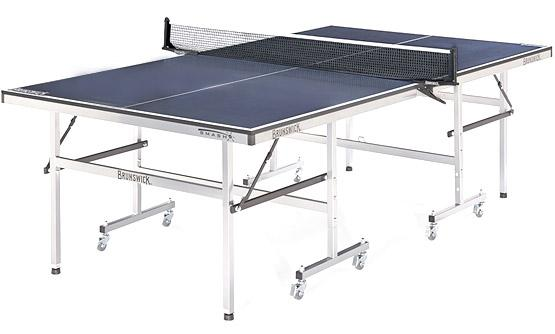 Merveilleux Space Saver Ping Pong Brunswick Smash 1.0 Table Tennis