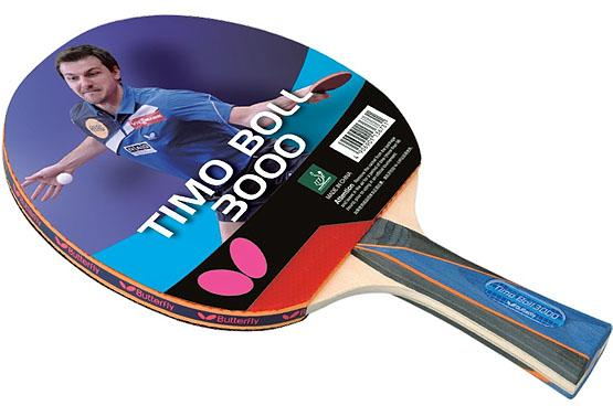 Raquette de ping pong butterfly timo boll 3000 - Butterfly tennis de table ...