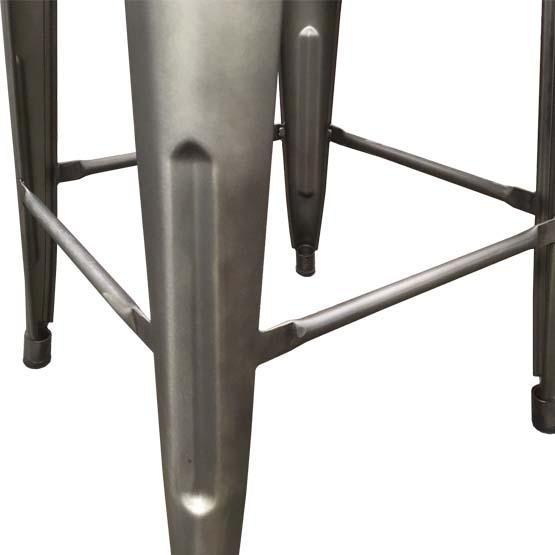 Tabouret de bar 26 pouces au fini métal industriel Forge