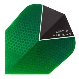 Green Harrows Optix dart flight