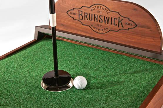 Golf putting practice game Brunswick Ross