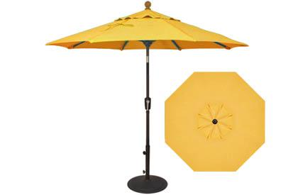 parasol de march jaune citron 7 pieds. Black Bedroom Furniture Sets. Home Design Ideas