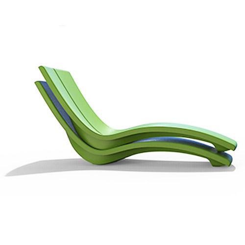 Chaise loungue moderne Kurve