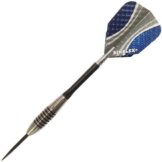 Bomber Blue and Grey dart set